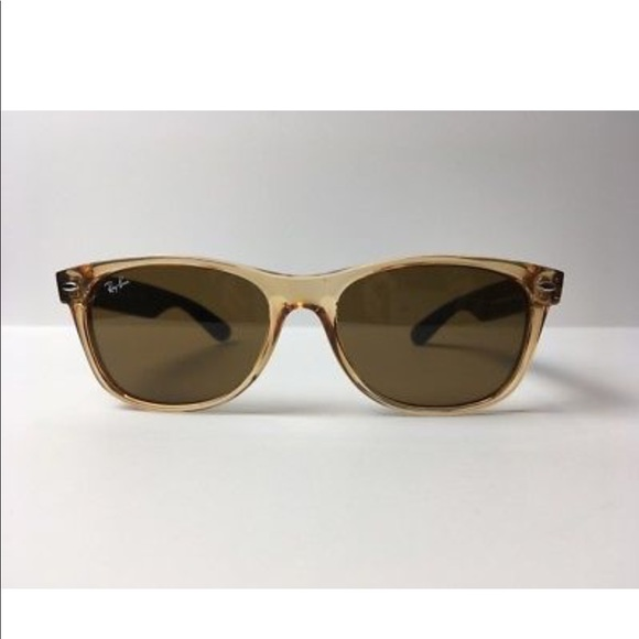 bf373544c97 RayBan New Wayfarer 2132 945 Honey Black Frames